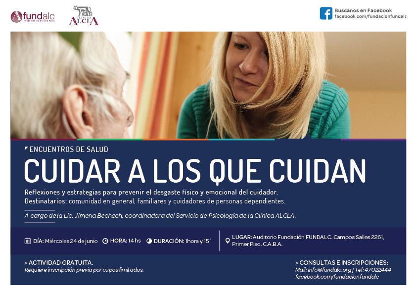 """Encuentros de Salud: """"Cuidar a los que cuidan"""""""